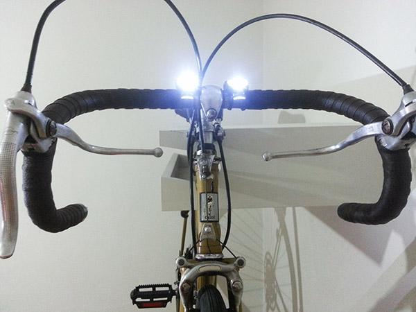 luzes dianteiras