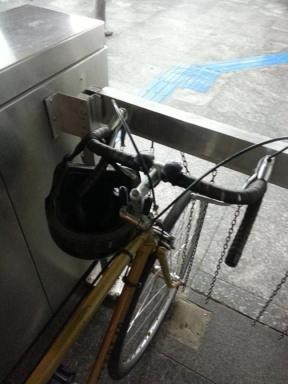bike presa no metro
