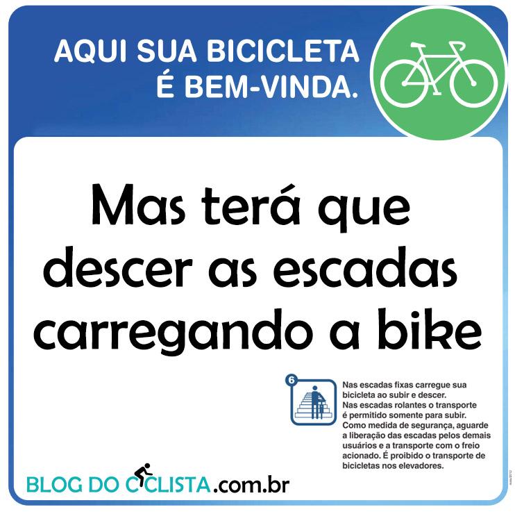 metro bicicleta