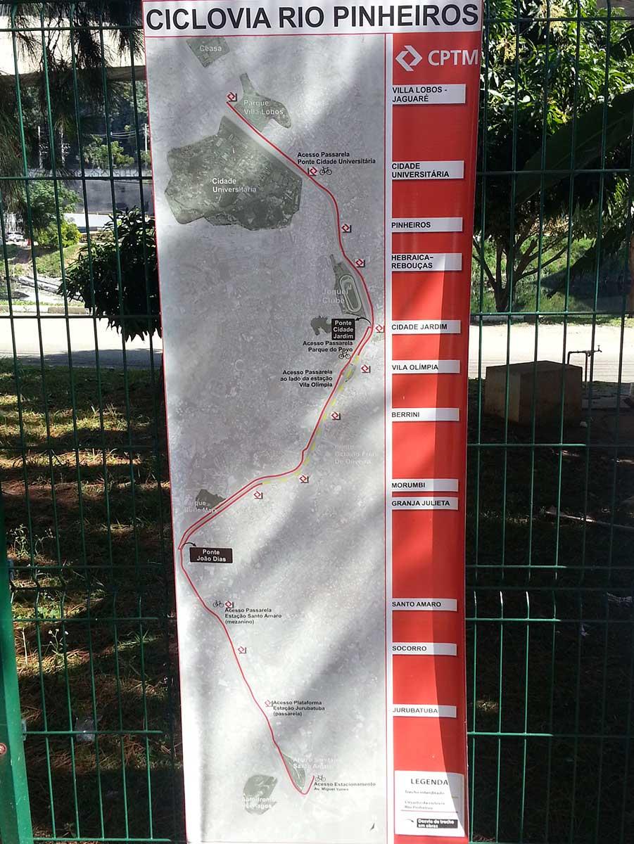 ciclovia-pinheiros-lista-acessos